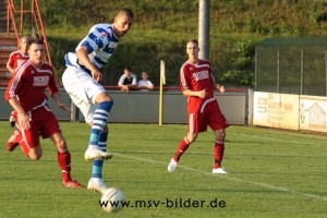Testspielauftritt im Sommer  Oliver Baum/msv-bilder.de